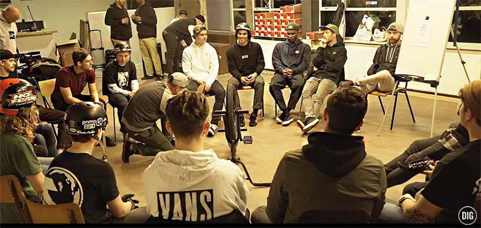 DIG X Kevin Peraza's Vans BMX Support Group Tour - Episode 2