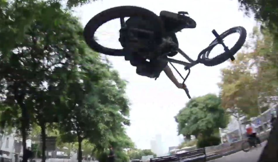 BMX – LOST IN BARCELONA by Sam Downs