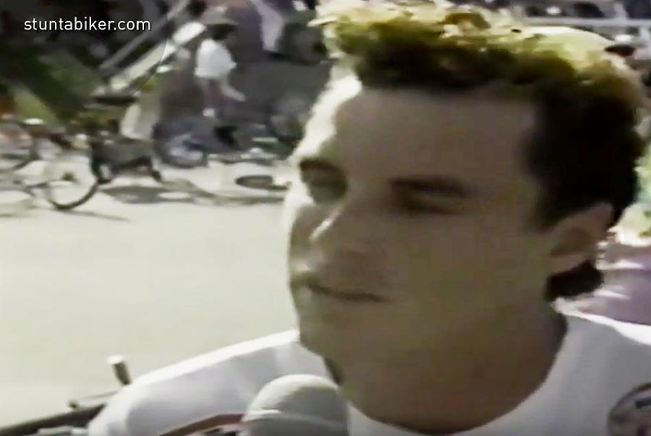 RL Osborn's Flatland Run At The AFA BMX Freestyle Masters! 1987 by The Stuntabiker