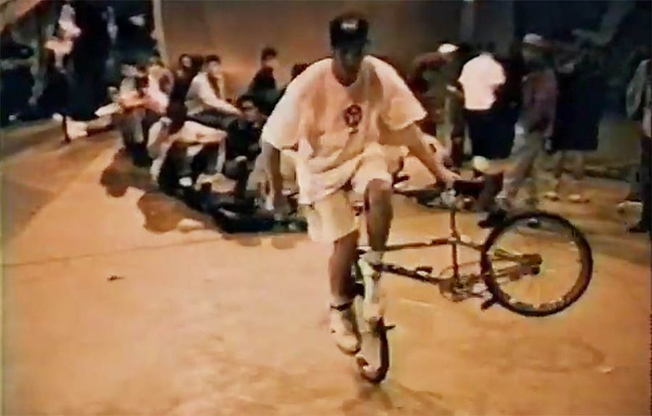 Bicycle Stunt Contest // Jeff Phillips Skatepark // Full Contest // 1992 by Snakebite BMX