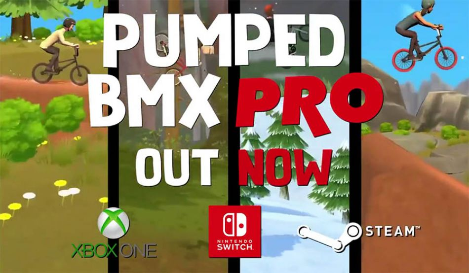 Pumped BMX Pro - Official Launch Trailer by Jack Maruk