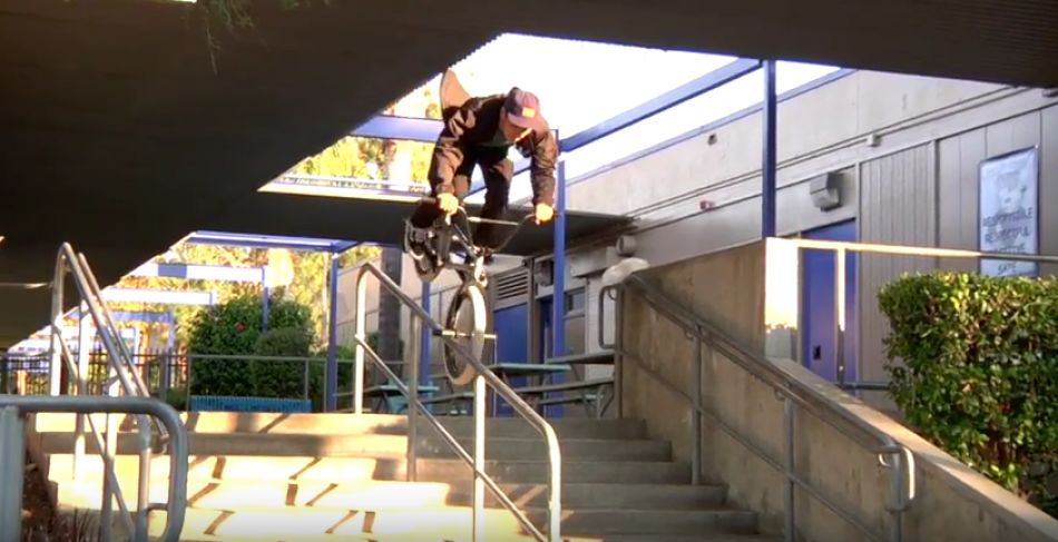 Brand New Rail in LA gets broken in by Ty Morrow & Andrew Castaneda by The Trip Tube
