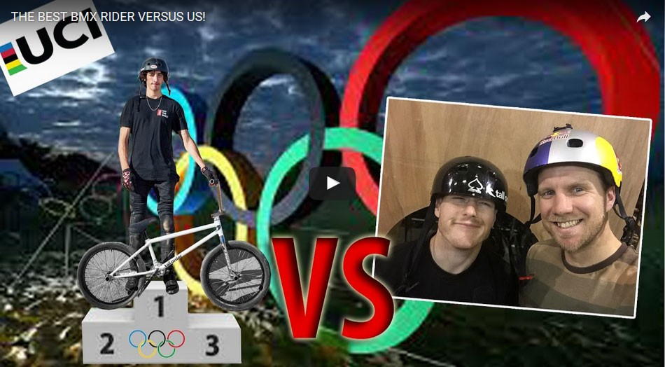 THE BEST BMX RIDER VERSUS US! by tall order bmx