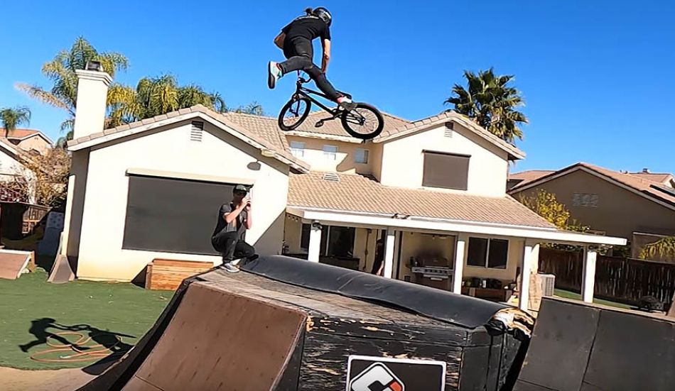 Backyard BMX Session with Jarryd Mcneil, Kurtis Downs, and Andy Buckworth by Jarryd McNeil