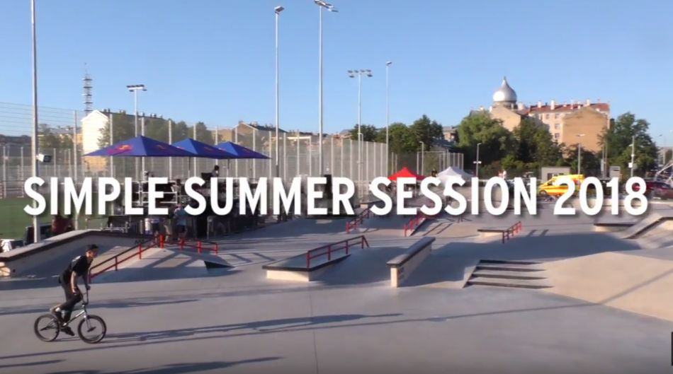 Simple Summer Session 2018: BMX Practice Highlights by freedombmx