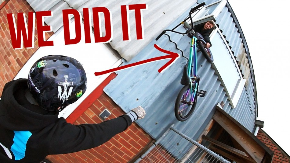 BREAKING INTO THE SKATEPARK! *DON'T TRY THIS* Harry Main