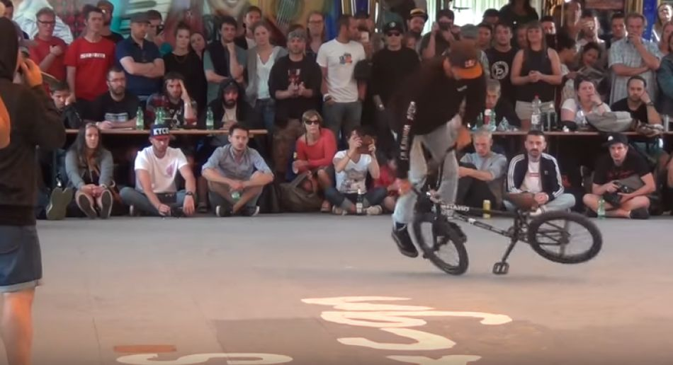 Matthias Dandois at Flatland Bmx Pro World Circuit 2017 FINAL (Cologne) Kevin & Els