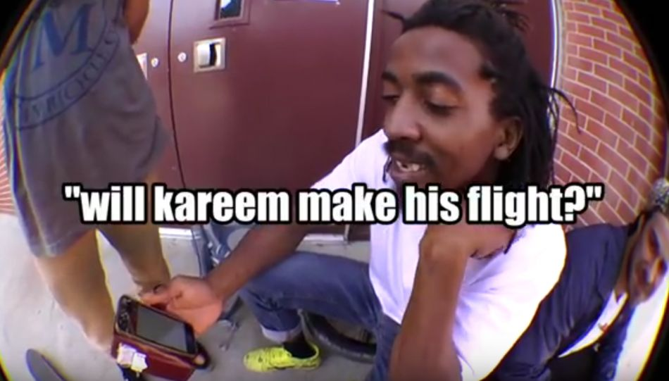 Will Kareem make his flight??? by sandmbikes