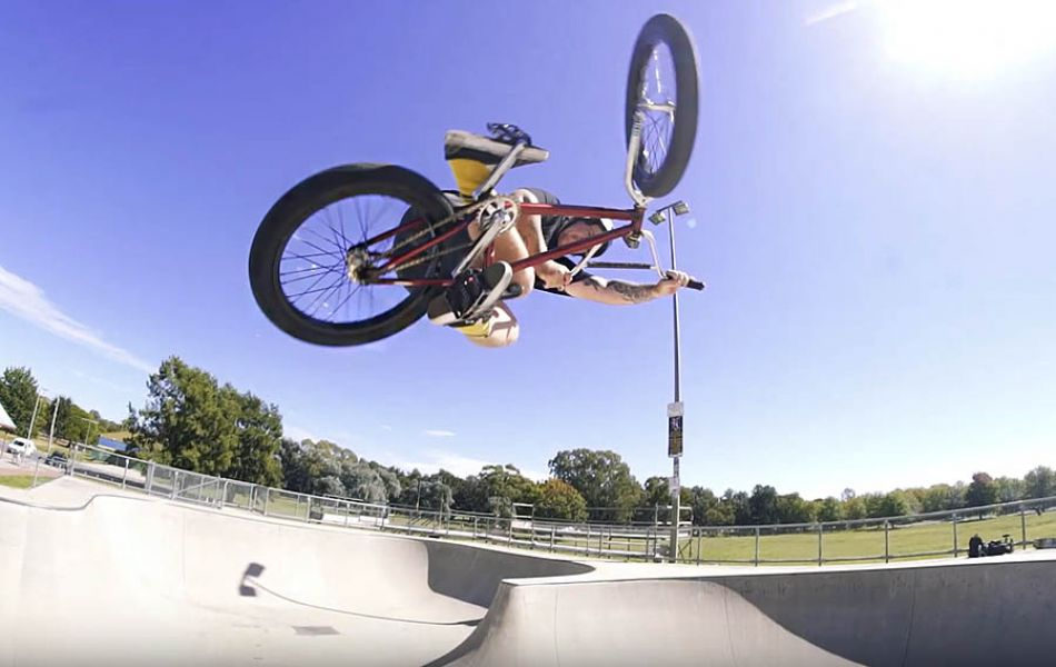 Jayden Fuller Weston Creek Session - Colony BMX