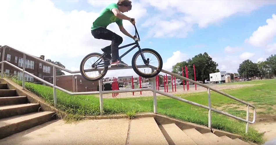 No Handrail Is Safe by sndybmx