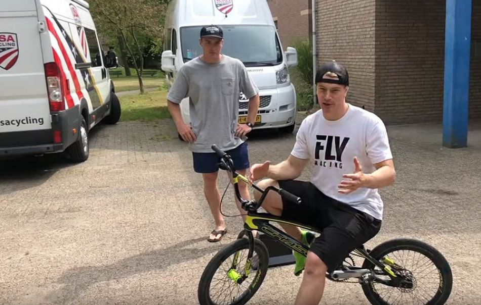 BMX RACE - Sprinting tips for beginners by Connor Fields