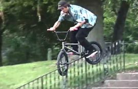 "Luke Burd ""Contrary"" Part (BMX) by Zenen Saneshige"