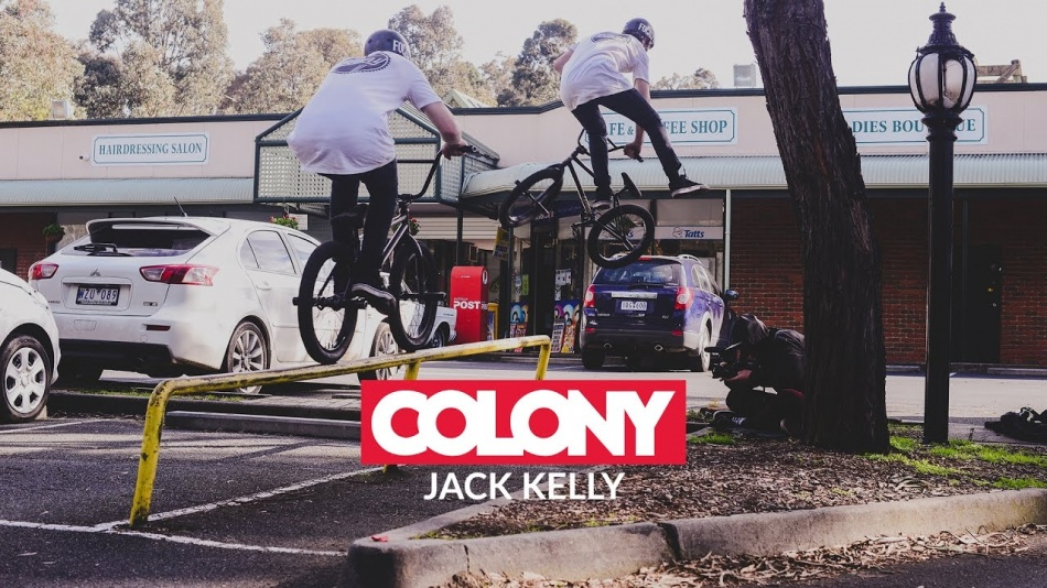 Jack Kelly - Colony BMX 2016 by ColonyBMXBrand