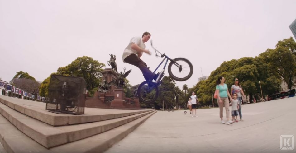 Raw Footage From The Streets Of Argentina! - Ep. 27 Kink BMX Saturday Selects