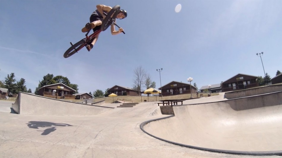 GoPro BMX Tour of Woodward PA with Dan Foley Woodward Camp