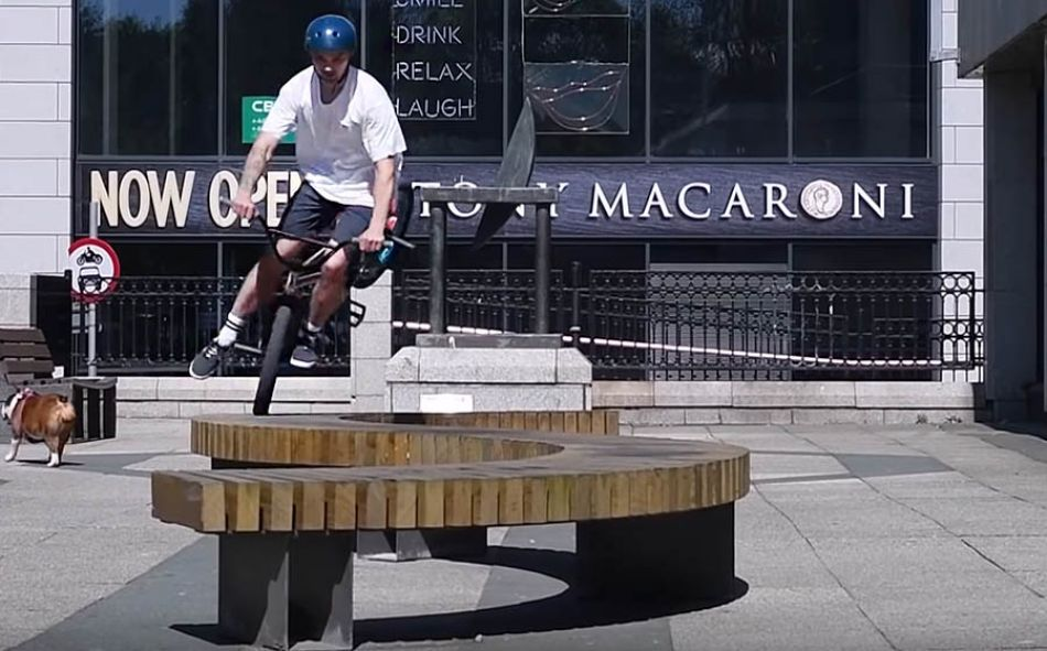 Front Wheel Physicist - Ross Taylor - DIG LOCALS