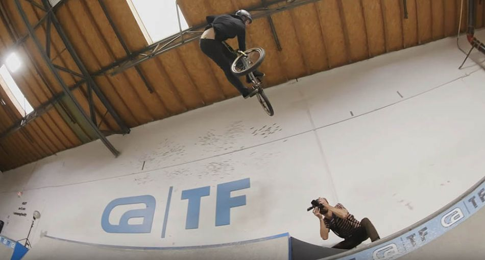 BOWL DOGS JAM! ANTHONY NAPOLITAN'S BMX JAM AT INDOOR CEMENT PARK