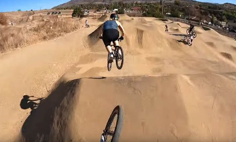 Riding Sweetwater Bike Park With Felicia Stancil! by Connor Fields