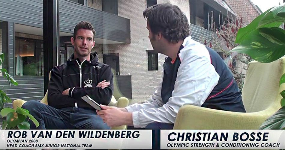 Rob van den Wildenberg: Olympic athletes interviewed by Christian Bosse