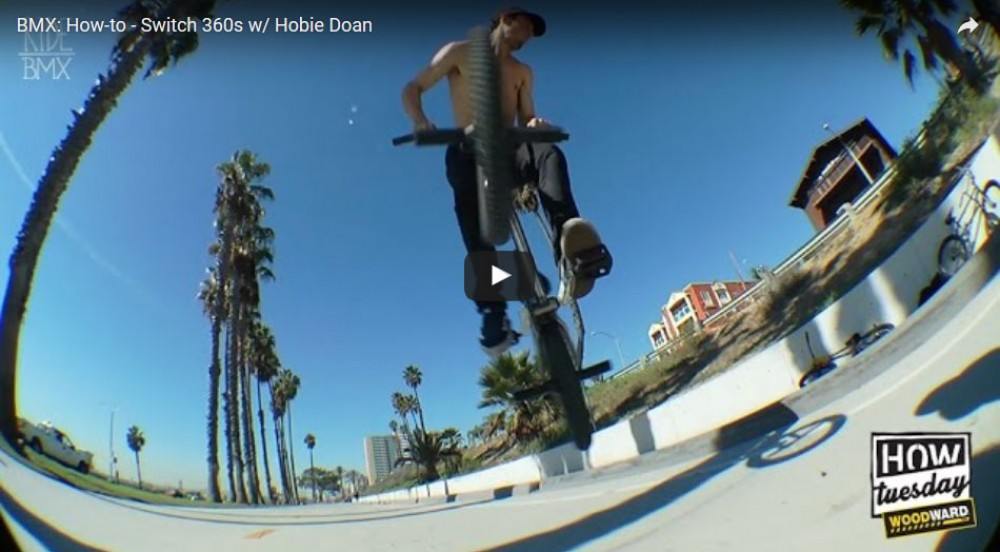 How-to - Switch 360s w/ Hobie Doan by Ride