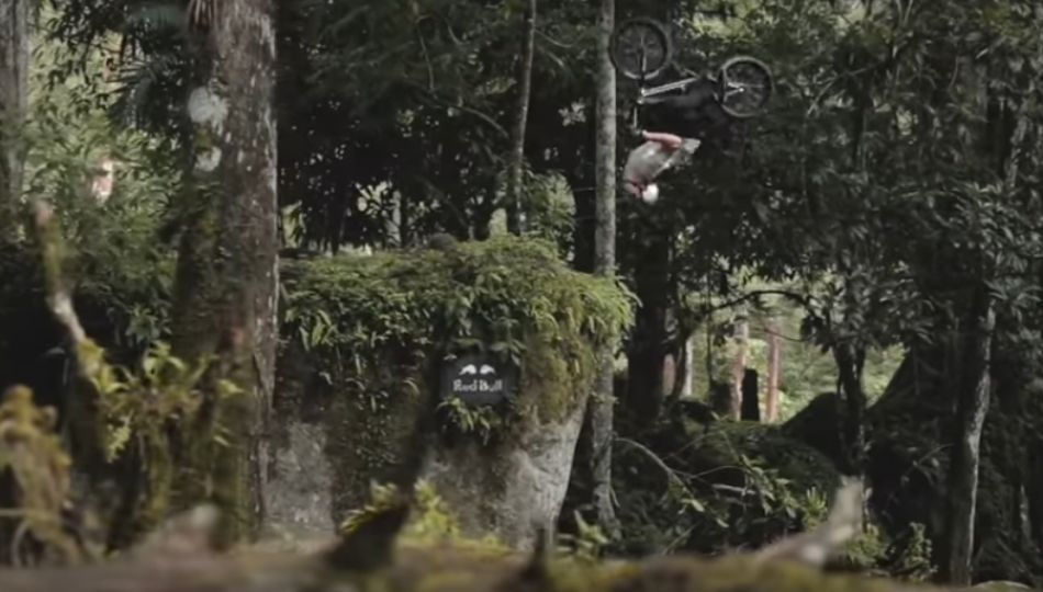 Kenneth Tencio Turns Costa Rican Jungle Into BMX Playground by Red Bull Bike