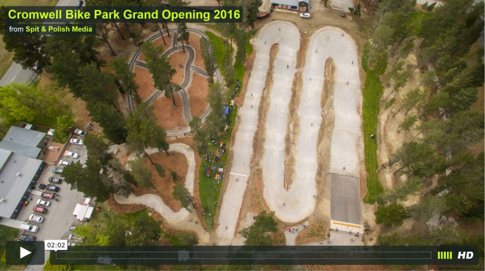 Cromwell Bike Park Grand Opening 2016  from Spit & Polish Media