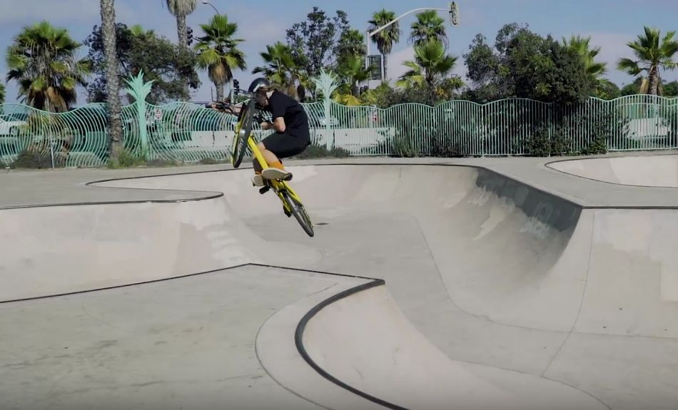 Josh Dove in California - Colony BMX