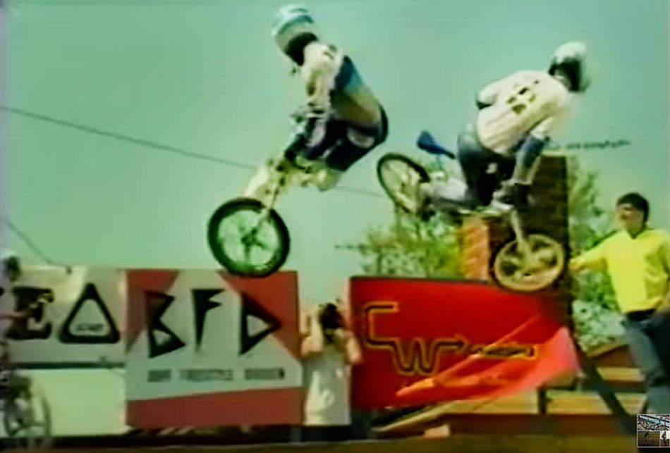 (1985) BMXPlus: Freestyles Raddest Tricks by OldSchoolBMXTV