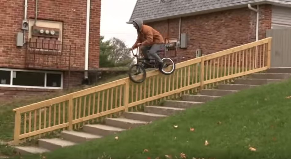 DAILY GRIND: REROUTING - TONY CHERRY FULL SECTION (BMX)
