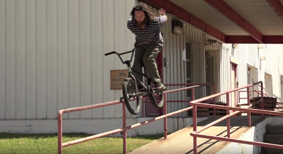 LATANE COGHILL GETS CRUSTY IN VIRGINIA! (BMX)