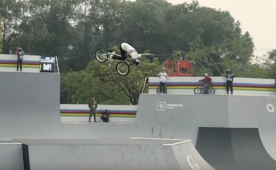 Logan Martin's 1st Place Semi-Final Run at UCI Urban World Championships by Vital BMX