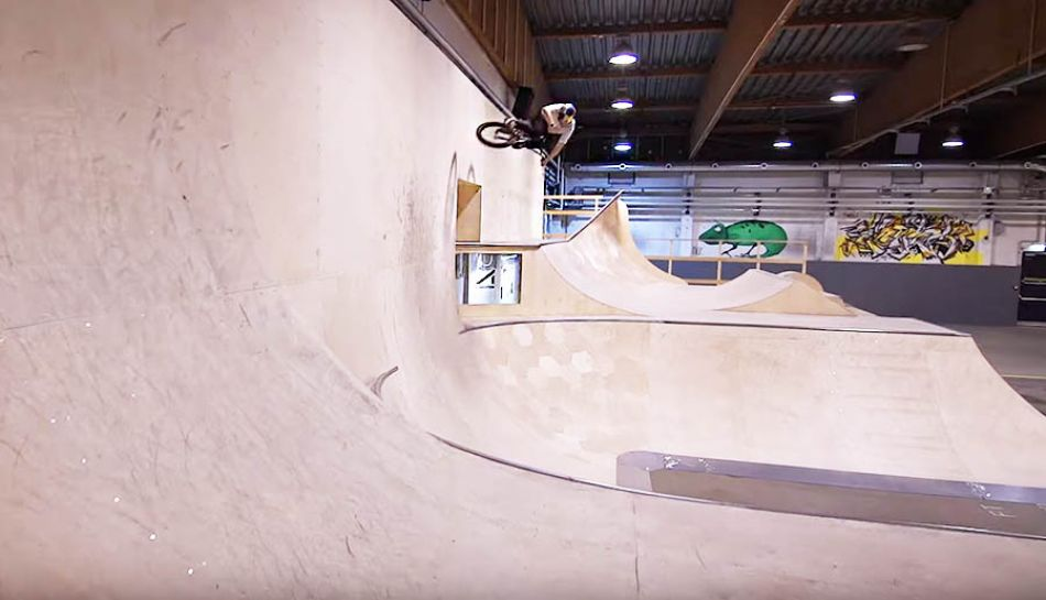 Sergio Layos riding the new Skatehalle Innsbruck by FURTHER