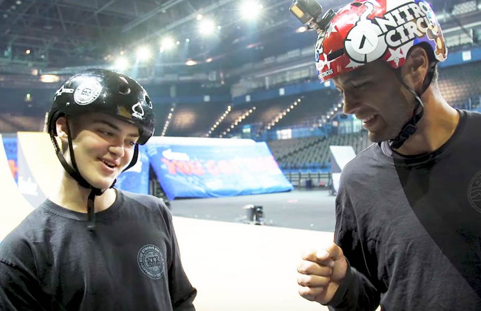 The Most Extreme Proud Dad Moment by Nitro Circus