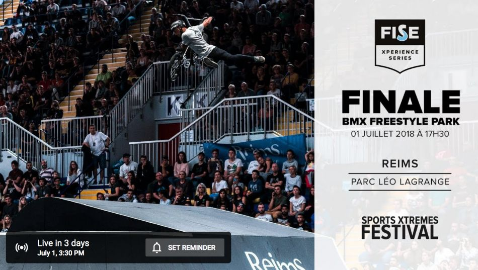 Replay on FATBMX! FISE Experience Reims 2018
