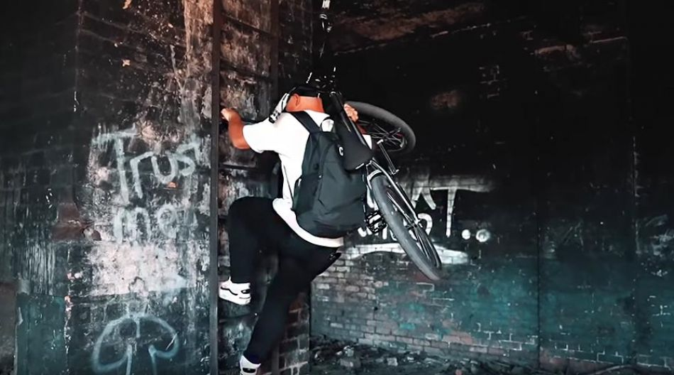 RIDING BMX IN ABANDONED FACTORY by Kieran Reilly