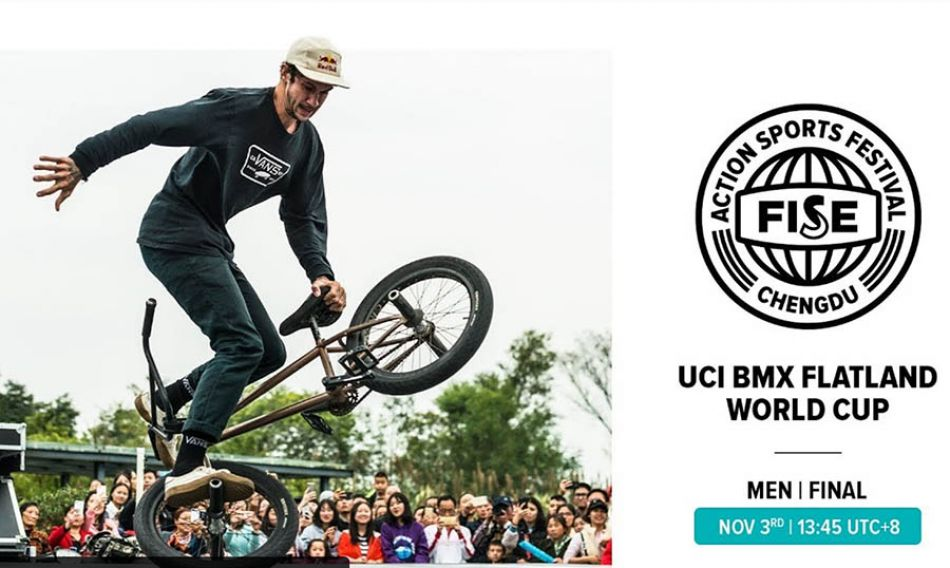 FISE CHENGDU 2019: UCI BMX Flatland World Cup Men Final