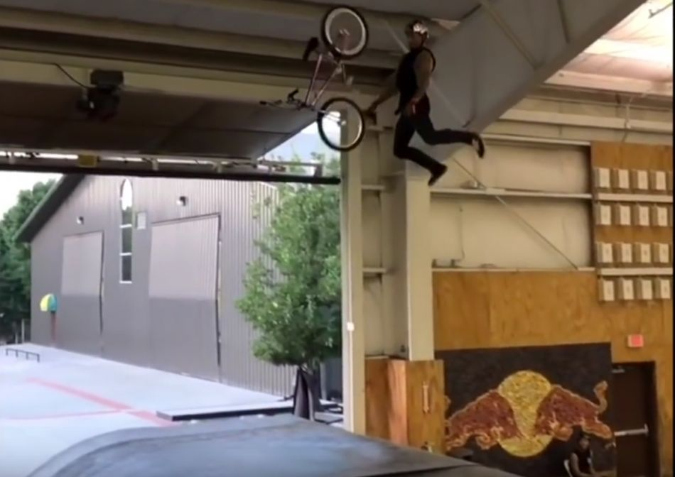 TRYING SCOOTER TRICKS ON BMX! by Ryan Williams