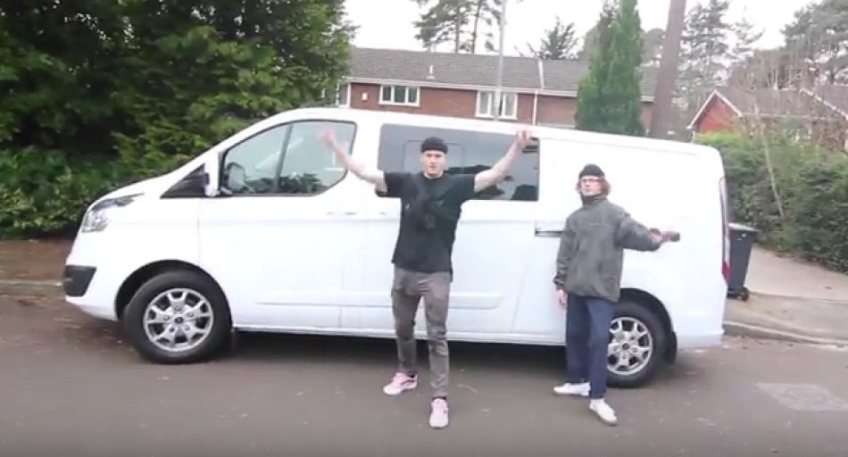 WE USED AN £18000 VAN TO RIDE BMX by Sebastian Keep