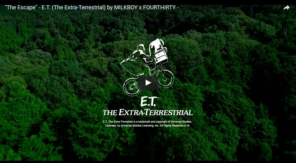 """The Escape"" - E.T. (The Extra-Terrestrial) by MILKBOY x FOURTHIRTY"