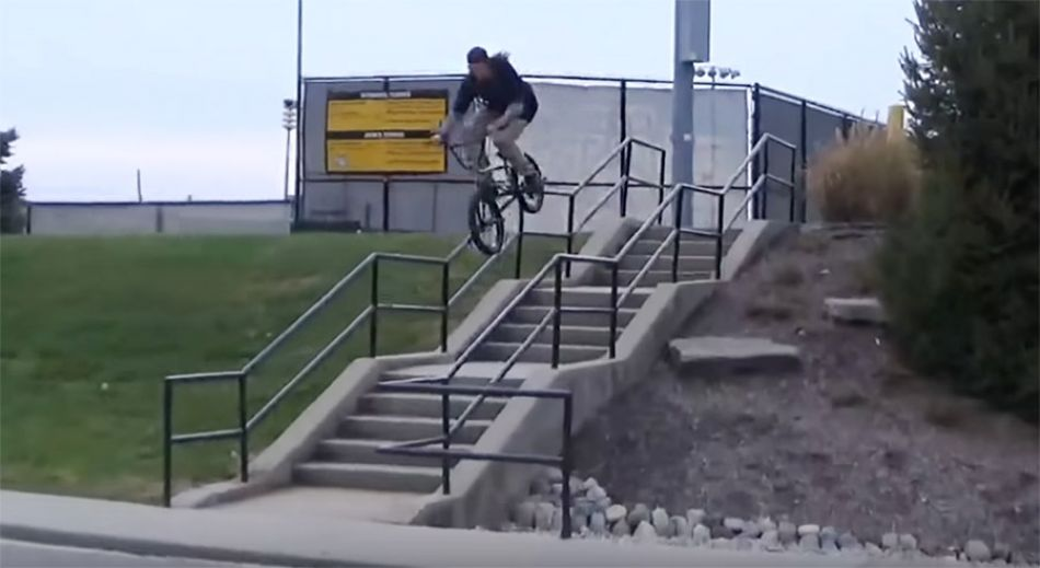 DAILY GRIND: REROUTING - MIKE VITATOE FULL SECTION (BMX)