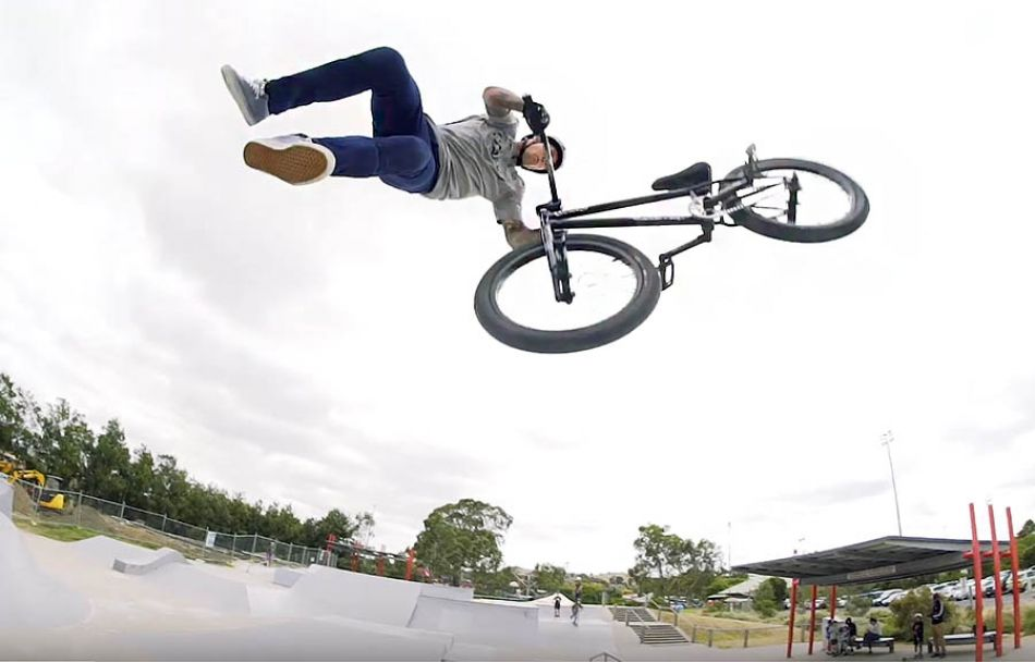 Mixed Section - Colony BMX (Take A Ticket Video Part)