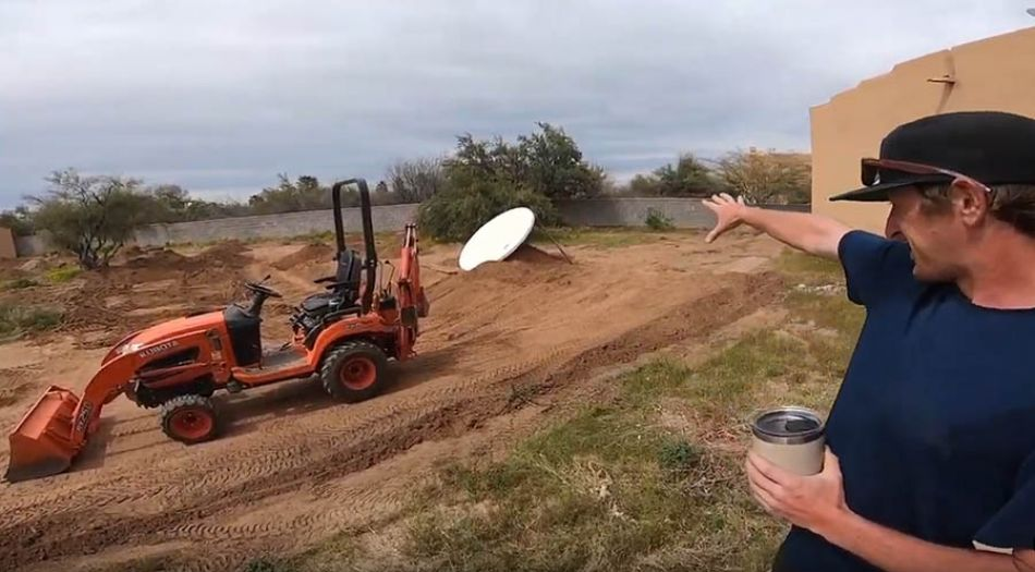 MASSIVE BACK YARD PUMP TRACK BUILD by Adam Banton