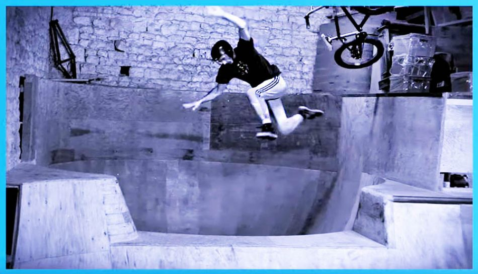 THE D.I.Y. BMX BARN - JEROME GAUTHIER