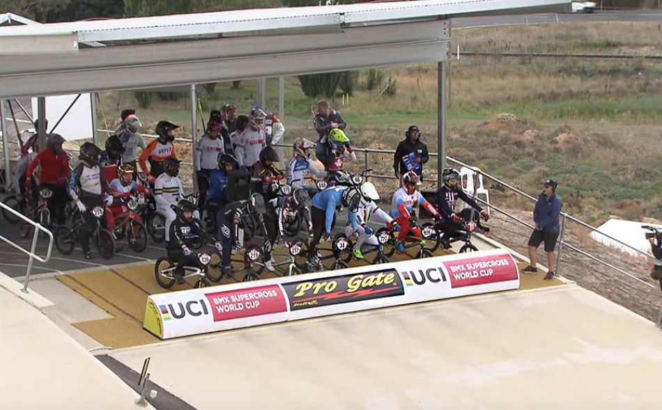 2020: UCI BMX SX World Cup Bathurst, AUS - Elite Men by bmxlivetv