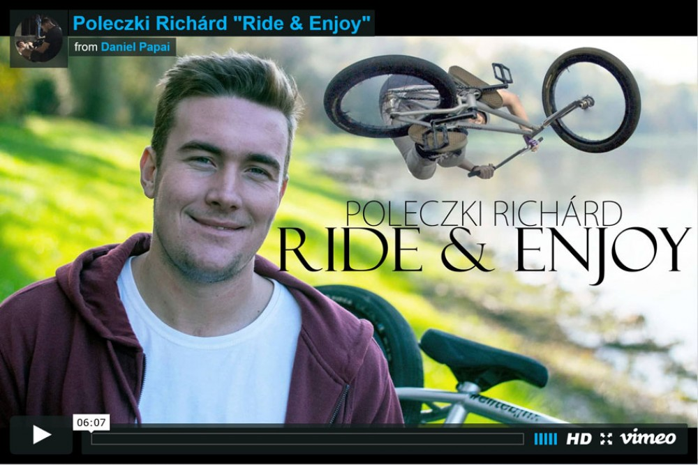 "Poleczki Richard ""Ride & Enjoy"" from Daniel Papai"