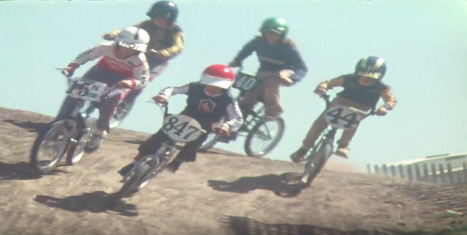 Rare Footage from 1976 Kawasaki BMX Race at Saddleback Park by The Motocross Files