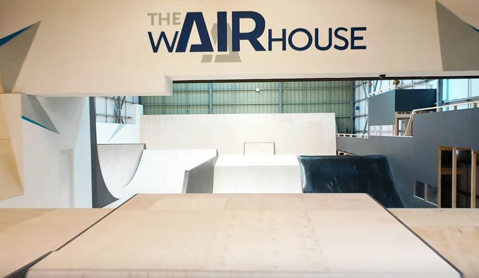 FIRST EVER BMX SESSION AT THE WAIRHOUSE! Biggest ramps at Europe's largest skatepark! by Adrenaline Alley