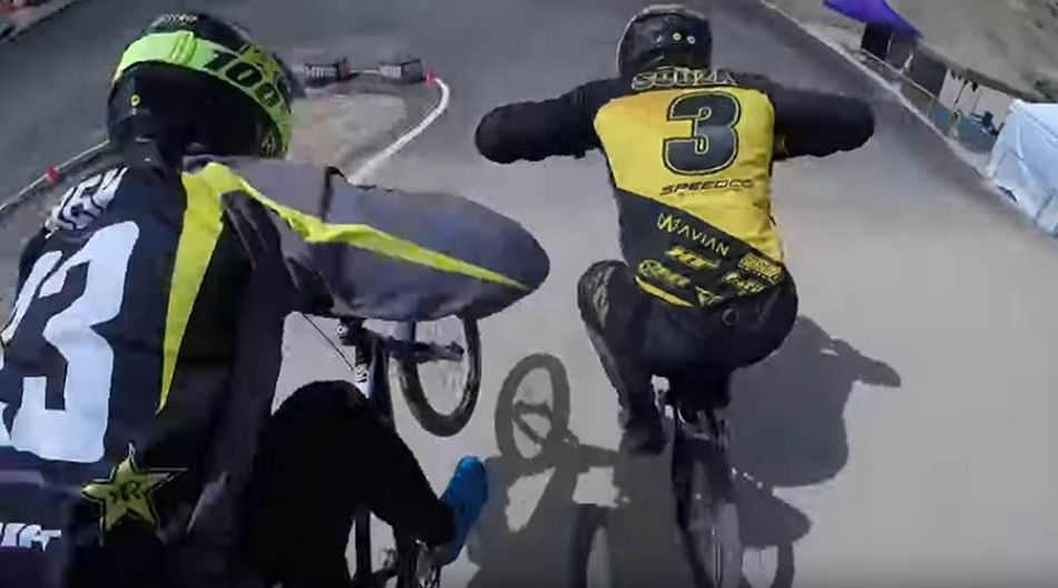 2019 USABMX Great Salt Lake Nationals GoPro POV - Max Cairns by Connor Fields