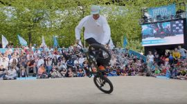 BMX Flatland: Matthias Dandois First Place Run @ Ruhr Games 2019 by freedombmx