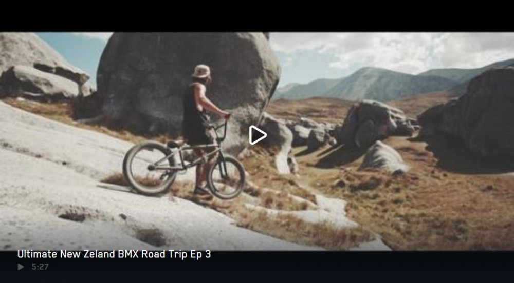 All aboard our New Zealand BMX tour's last leg. By Red Bull